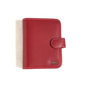 Franklin Covey Red DAYONE Compact Agenda Planner